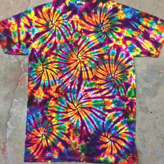 tie dye shirt designs instructions