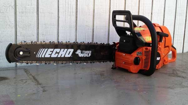 Echo timberwolf cs 590 chainsaw manual