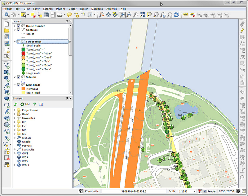 Documentation qgis 2.18