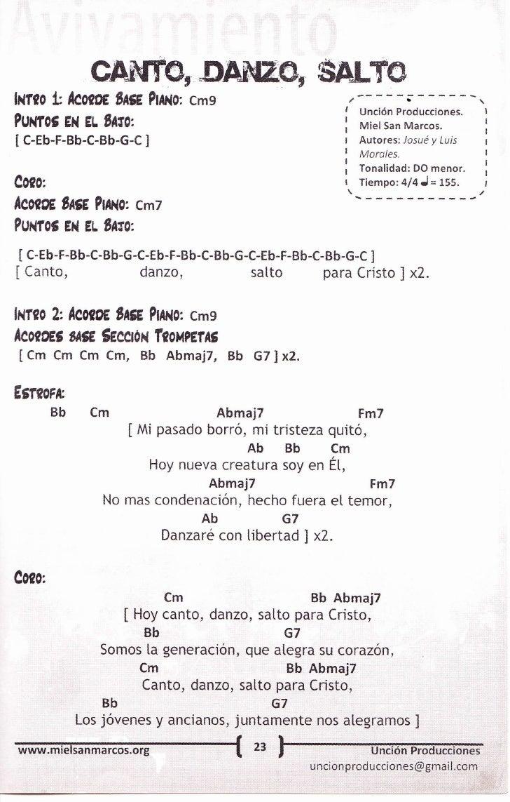 Miel san marcos acordes pdf