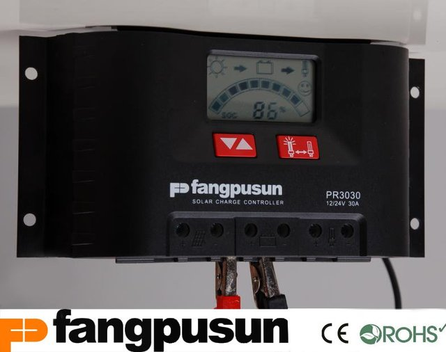 Fangpusun pr3030 solar controller user manual