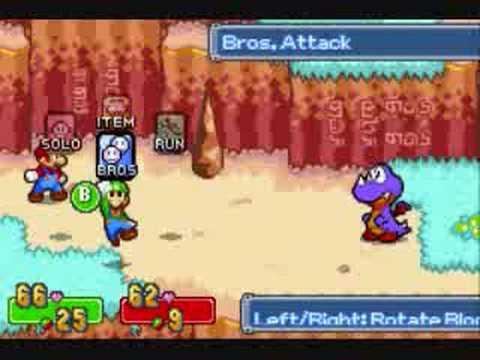 Mario and luigi superstar saga how to get cyclone bros