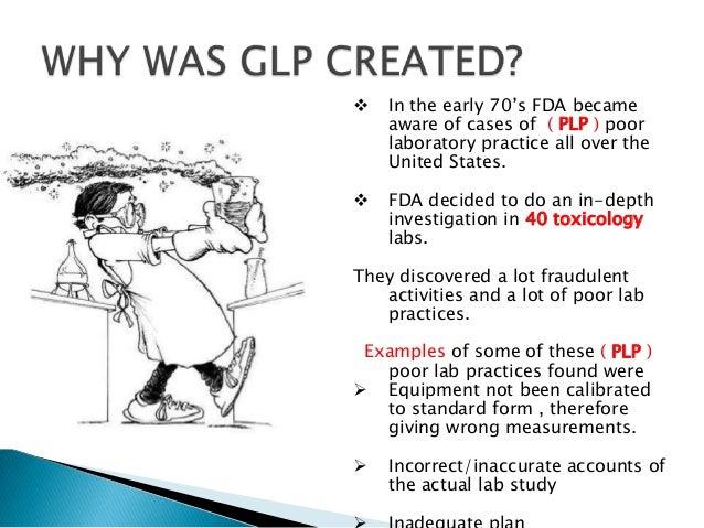 Good laboratory practice guidelines india