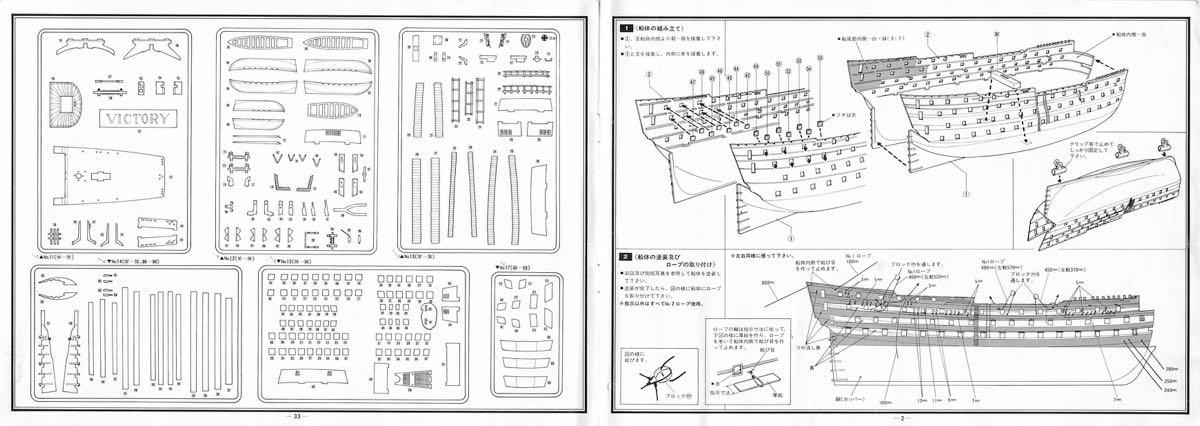 heller hms victory instructions pdf