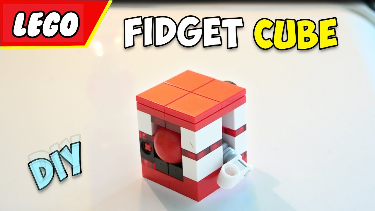 how to make a fidget cube out of lego instructions