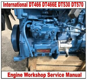 International 4300 dt466 service manual