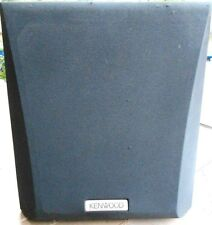 kenwood sw 32ht subwoofer manual