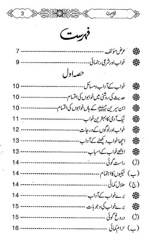 Khwab ki tabeer book in urdu pdf