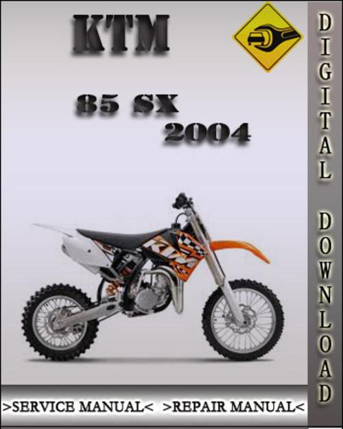 Ktm 85 sx repair manual free download