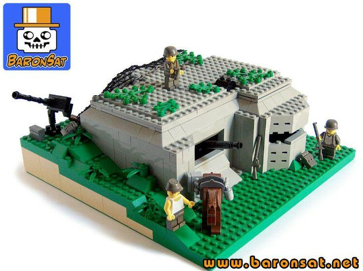 Lego army base instructions