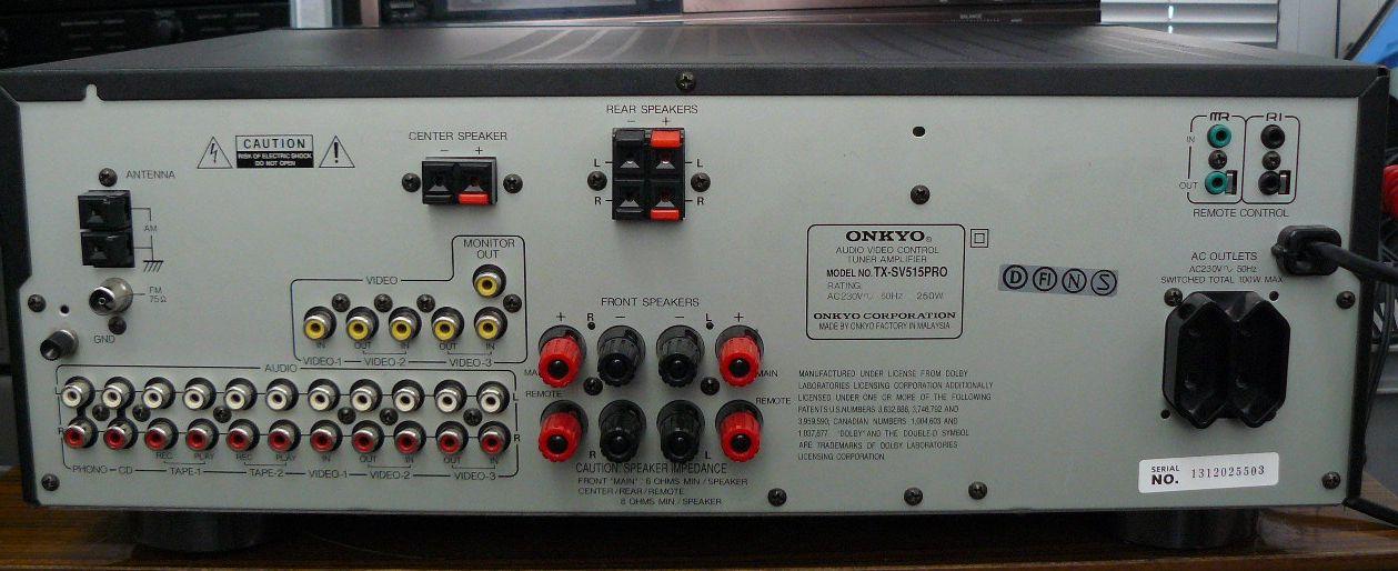 onkyo tx sv515pro service manual