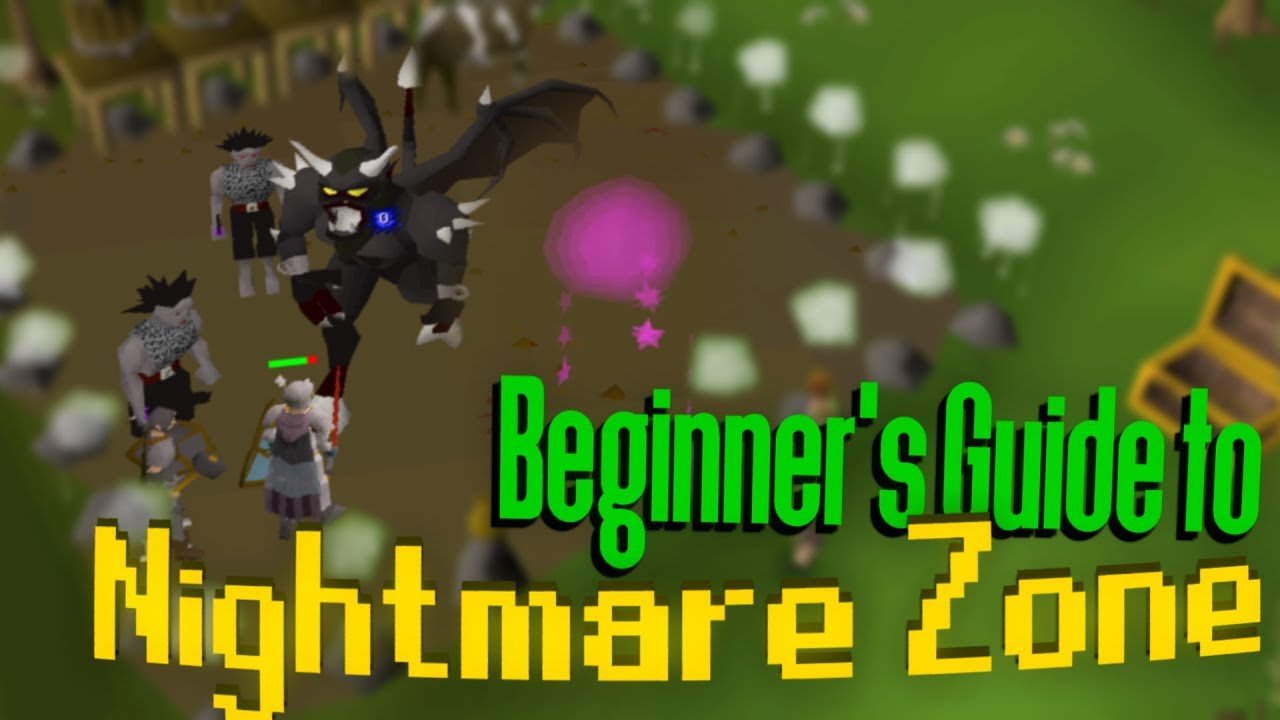 Osrs nightmare zone dharok guide