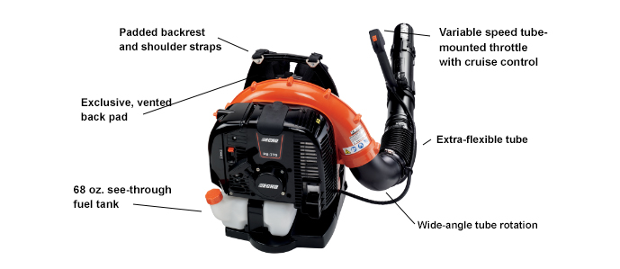 parts manual for echo pb-651 backpack blower