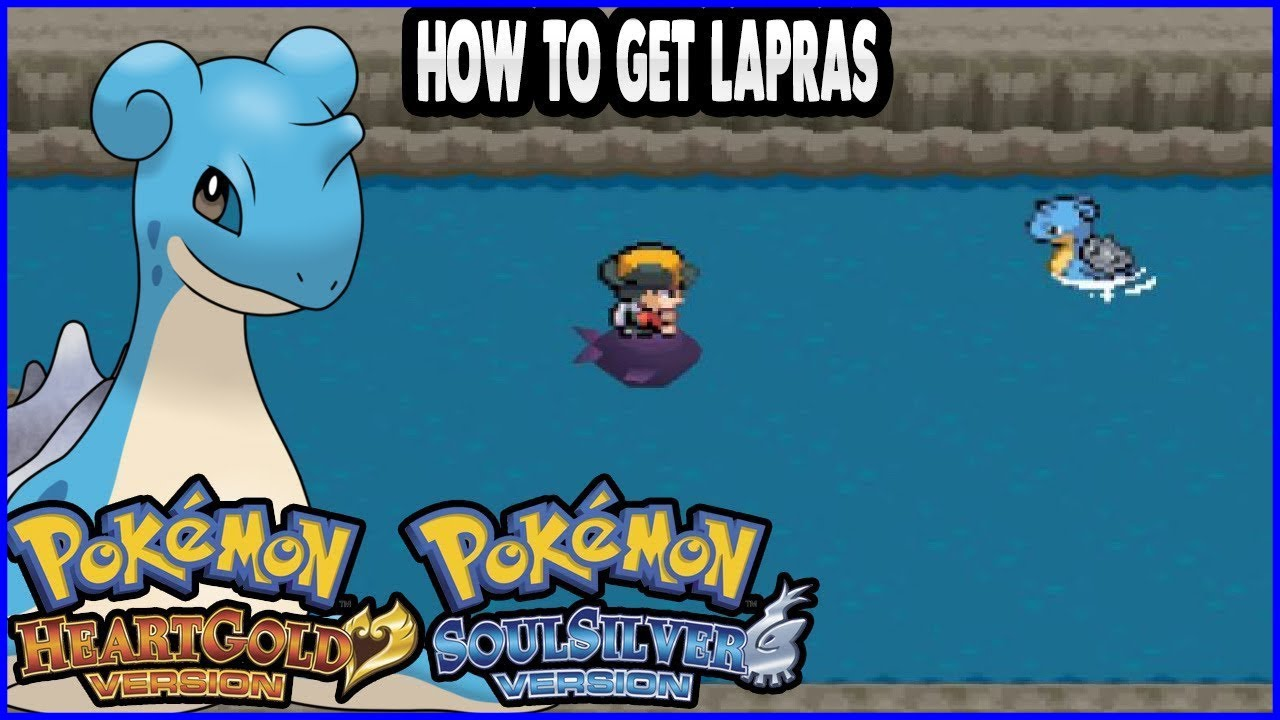 Pokemon how to get a lapras