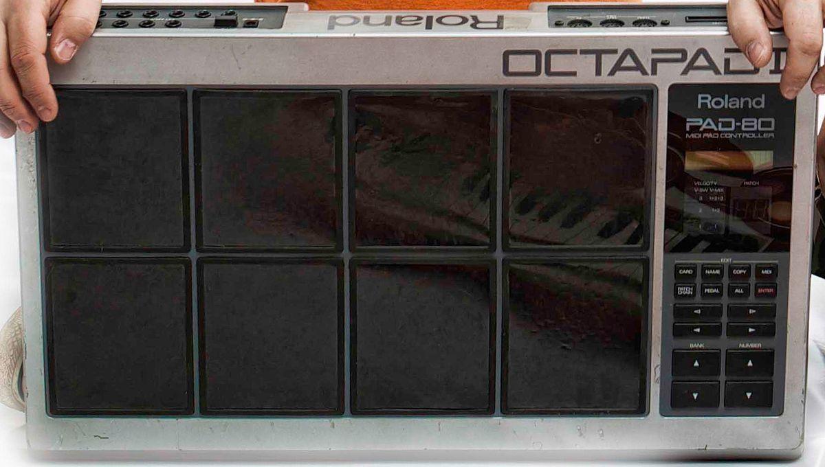 Roland octapad pad 8 manual