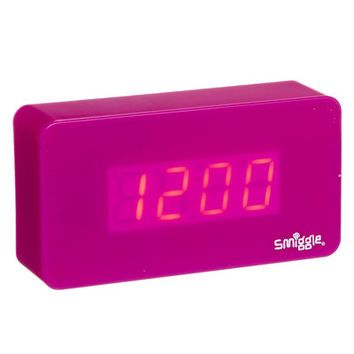 Smiggle alarm clock instructions