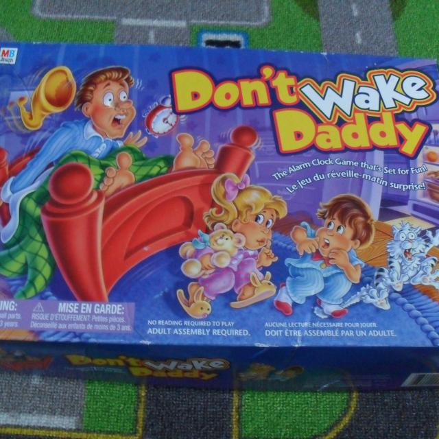 ssh don t wake dad game instructions