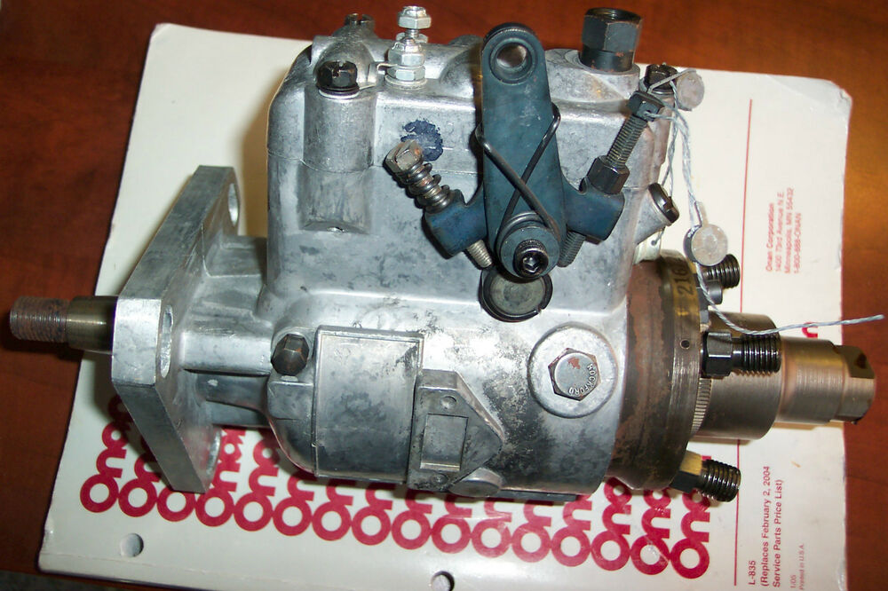 stanadyne fuel injection pump manual