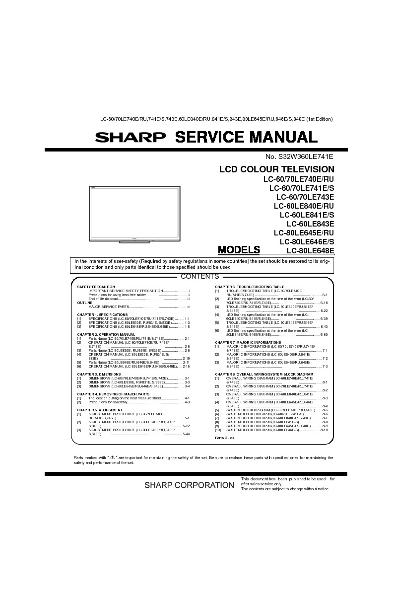 Tv Service Manual Free Download Pdf